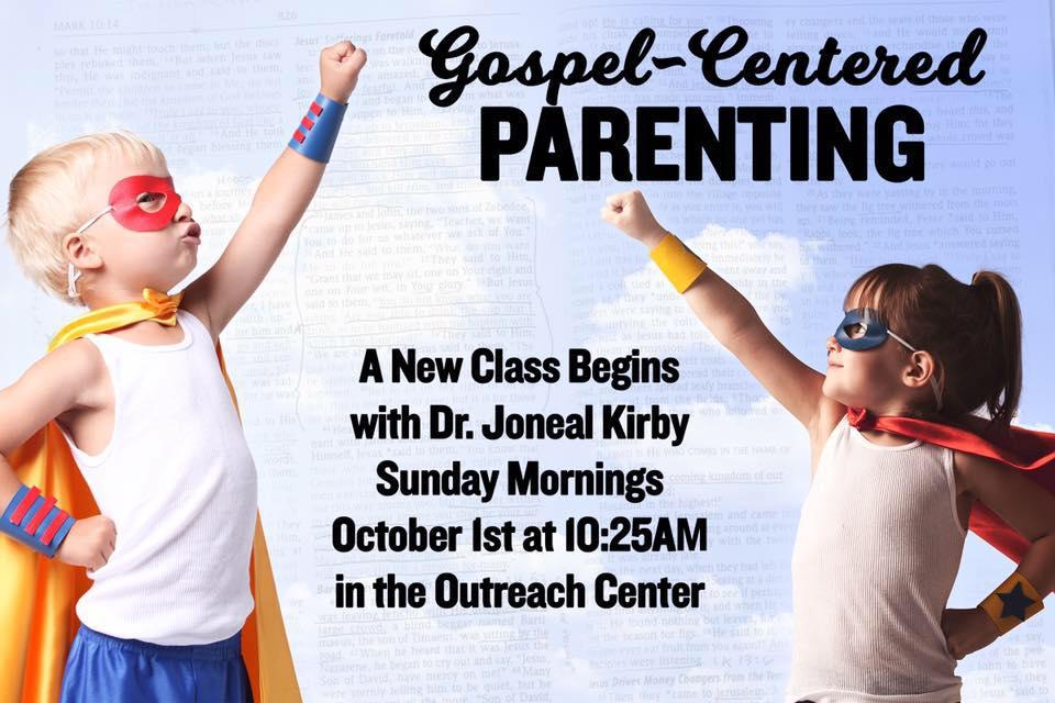 Gospel Centered Parenting
